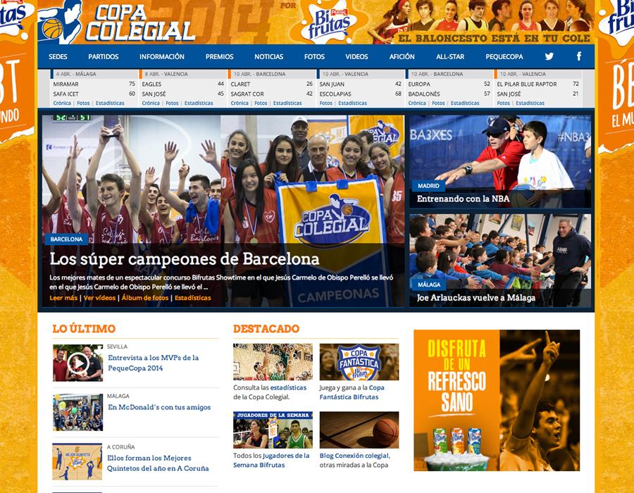 Copa Colegial 2014